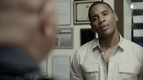 Reggie Yates speaks to the cop who refuses to be silenced