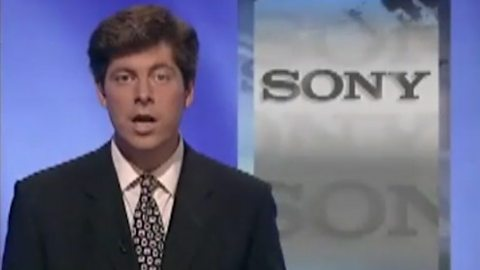 The day Sony 'entered the video games market'