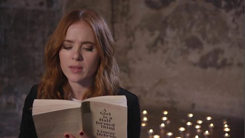 Angela Scanlon reads from her favourite book for #LovetoRead