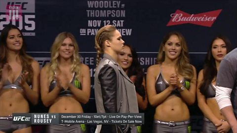 UFC 205: Ronda Rousey makes a special appearance ahead of her anticipated comeback