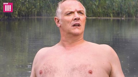 Greg Davies poster sparks 'free the nipple' row