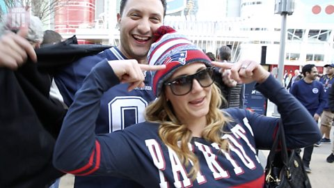 Super Bowl: The fans who love America's biggest game and have paid big bucks to be there