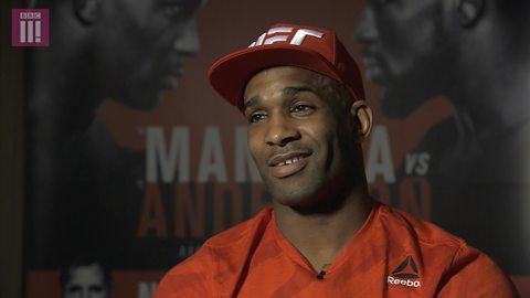 "UFC London: Jimi Manuwa's ""don't blink fighting style"""