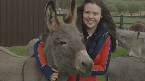 The girl rescuing donkeys from a life of suffering