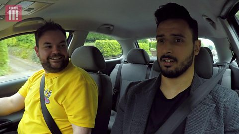 Taxi to Training with Nacer Chadli