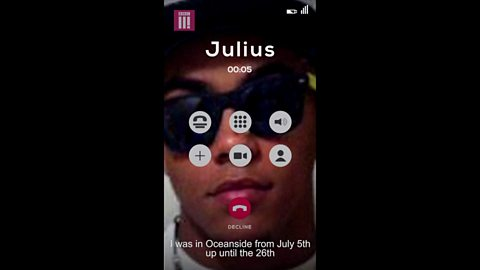 One Deadly Weekend In America: Julius's phone call