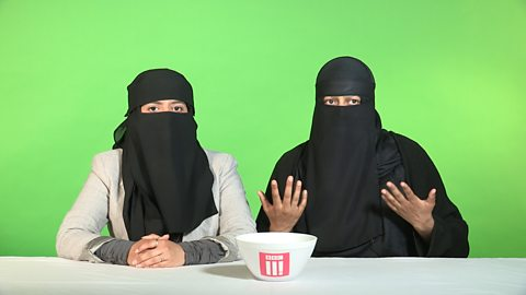 Things not to say to someone who wears a veil