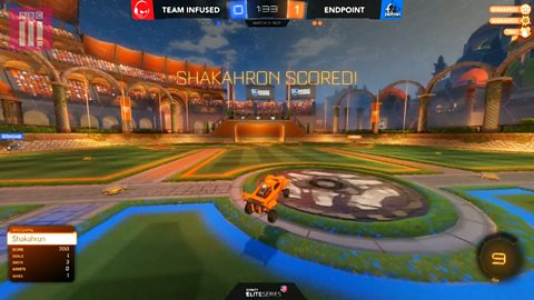 Endpoint score with incredible assist to make Rocket League final