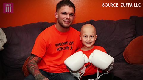 UFC 217: How young cancer survivor inspired UFC star Cody Garbrandt