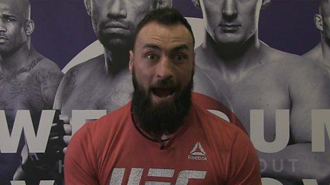 Paul Craig's UFC impressions might get him into trouble