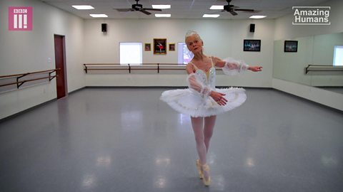 The 77-year-old ballerina who inspires others to pursue their dreams