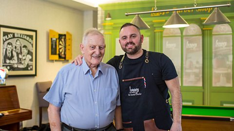 The barber helping men with dementia