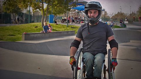 This Amazing Human pulled off the world's first wheelchair backflip