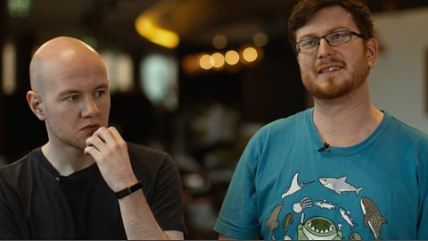 Dota casters Shaneomad & Gareth answer very difficult questions