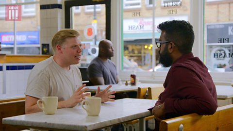 Romesh and Rob Beckett on their shared comedy beginnings