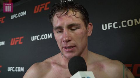 Darren Till lost for words after defeat by Tyron Woodley