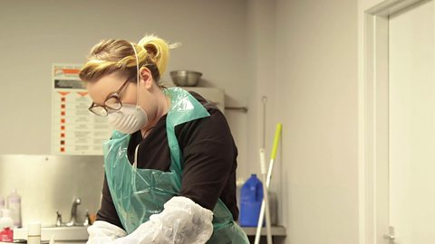 The women who work at preserving someone's body when they die