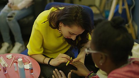 The woman using make-up and manicures to empower London's vulnerable women
