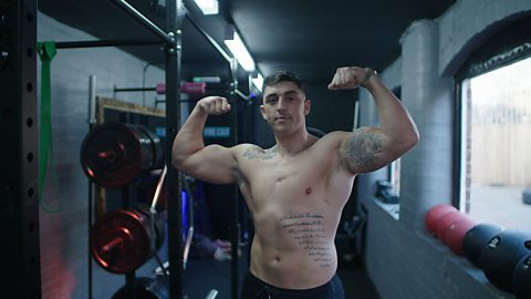 Stabbed through the heart but now using fitness to help others