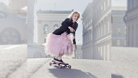 Lena is one of Finland's oldest skateboarders and helps others around the world