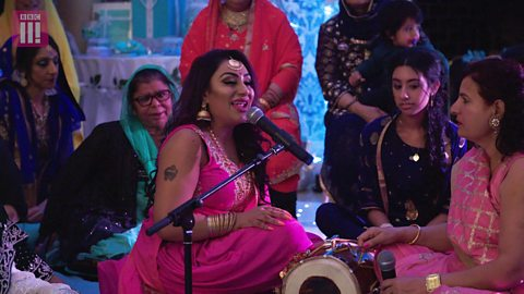 ATN judge Reena Kaur explains why singing is so important to her