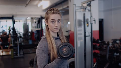 The personal trainer helping others who are battling eating disorders