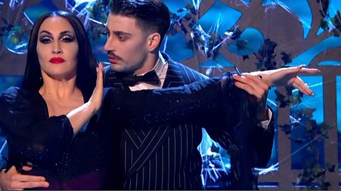 BBC Three Does Strictly: The Addams Family