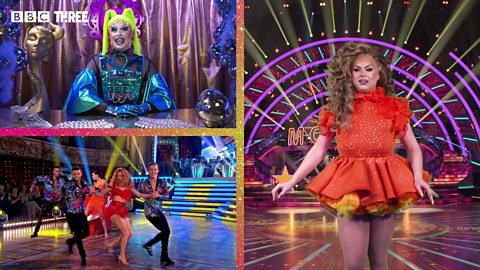 Strictly Frocked Up! Cheryl Hole tries the salsa