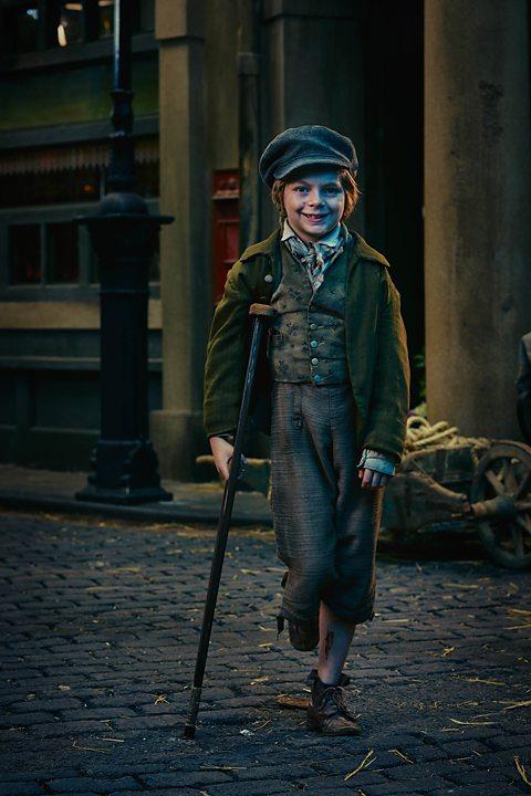 Tiny Tim Christmas Carol.Bbc One Dickensian Tiny Tim