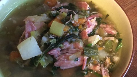 Bbc radio ulster the john toal show ham hock and vegetable soup ham hock and vegetable soup forumfinder Image collections