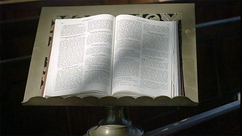 A Christian bible
