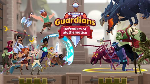 Game - Guardians: Defenders of Mathematica