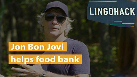 Jon Bon Jovi helps food bank