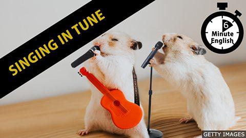 Singing in tune