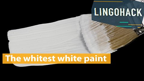 The whitest white paint