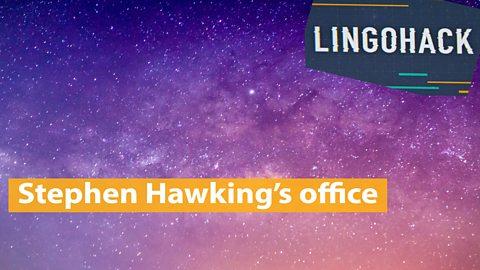 Stephen Hawking's office