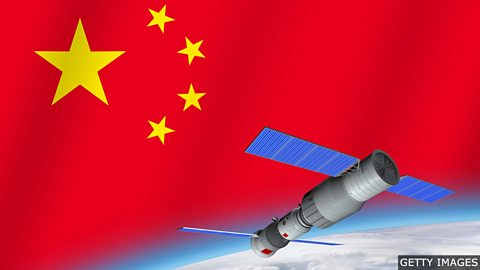 Astronauts occupy China's new space station
