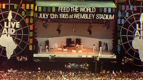 The creation of Live Aid from BBC TWO's Live Aid - Against All Odds