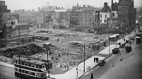 Survivors of the WWII bombing campaign remember the raids that devastated the city.