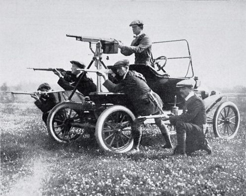 Ulster Volunteer Force prior to World War One