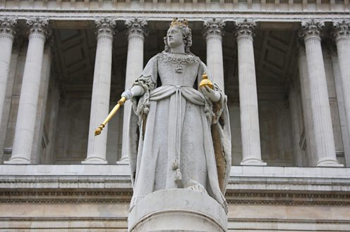 Queen Anne, the first monarch of Great Britain