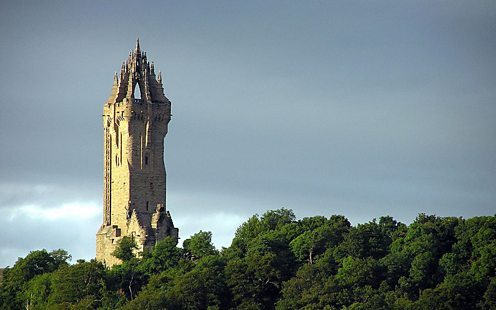 Wallace Monument, by Finlay McWalter courtesy of Wikipedia Creative Commons
