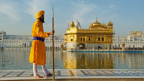Golden Temple, Amritsar - spiritual and cultural centre of the Sikh religion.