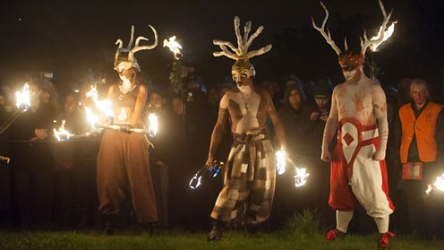 The Annual Beltane Fire Festival, Edinburgh