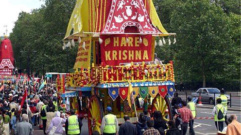 Ratha Yatra procession