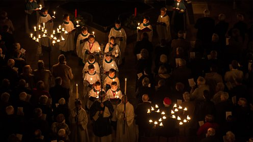 Darkness to Light Advent Procession, Salisbury Cathedral