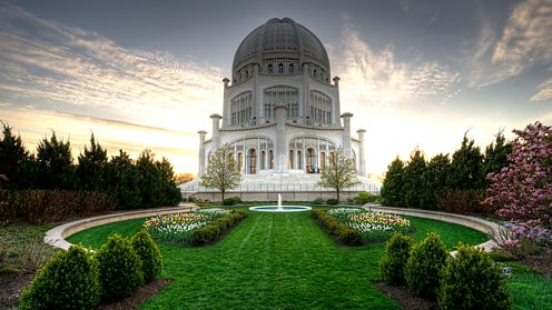 Baha/i House of Worship in Wilmette, Illinois