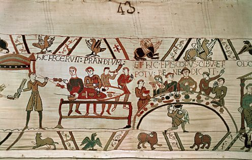 Bayeux tapestry feast