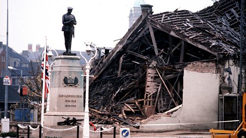 Destruction of the Enniskillen bombing, Remembrance Day 1987