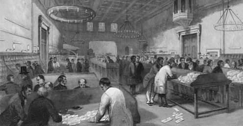 1844: The Inland letter Office at the GPO.